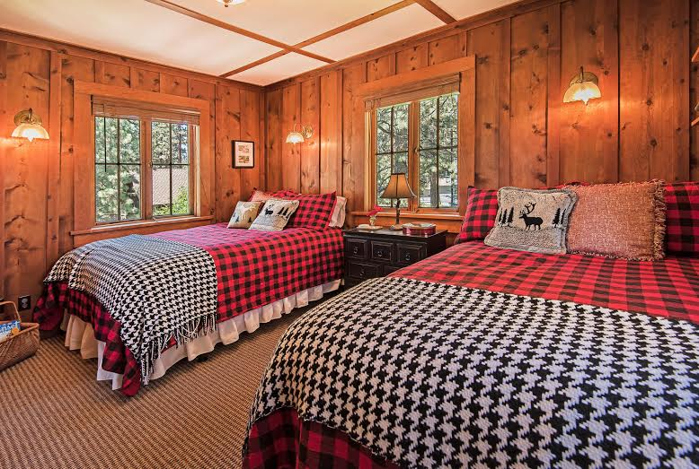 Imagine waking up everyday to this splendid master bedroom in this Incline Village NV luxury home for sale.