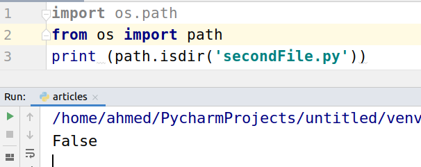 Python Check If File or Directory Exists
