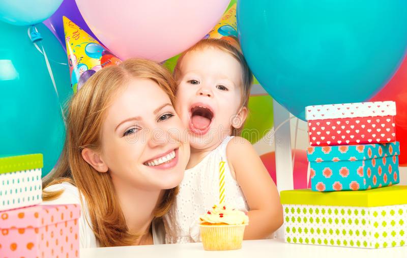 Подарки на день рождения и воздушные шары Стоковое Фото ...