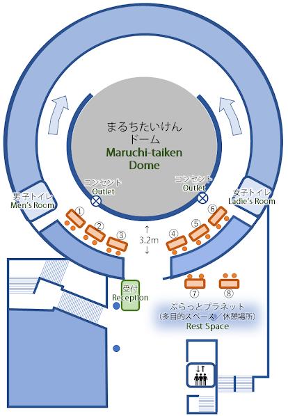 Tentative booth arrangement plan ブース配置予定図(仮)