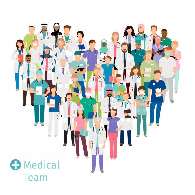 profissionais da saúde de diferentes lugares do mundo.png