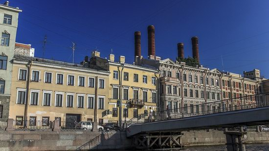Boat trip along the canals of St. Petersburg, Russia, photo 23