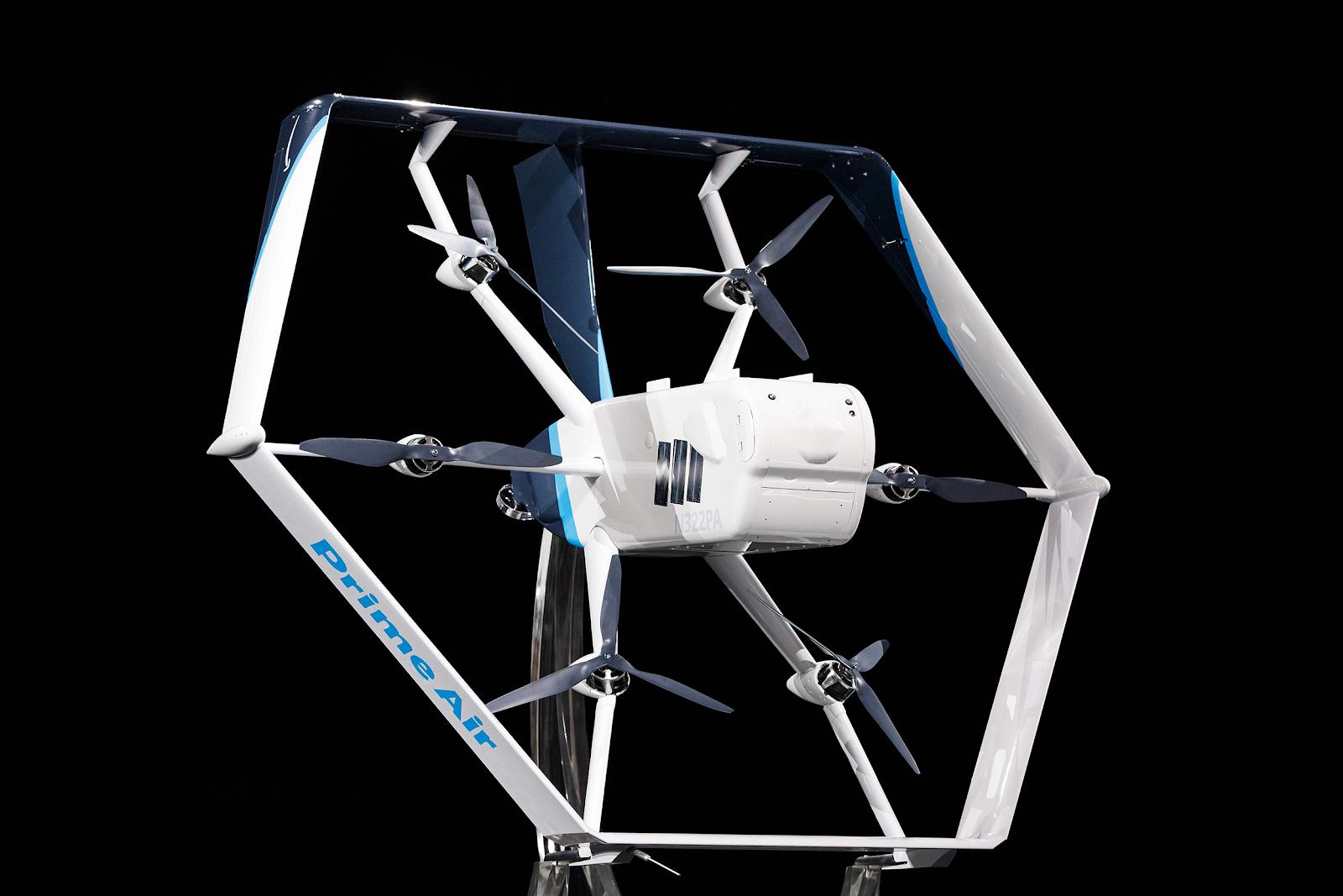 Amazon Prime drone delivery
