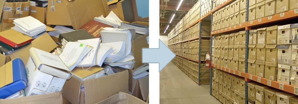 Архивное, внеофисное хранение документов | Архив в КЧР