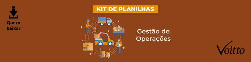 Kit de Planilhas de Gestão de Operações