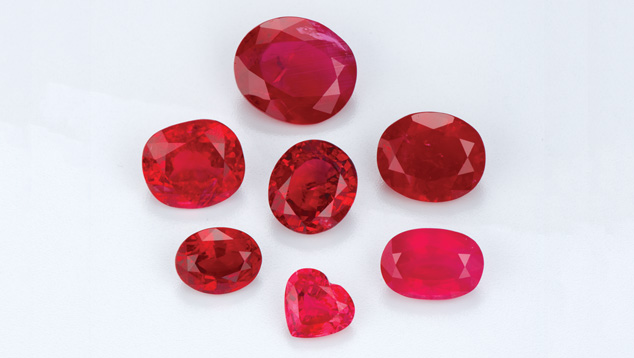 Untreated and Heat-treated Rubies