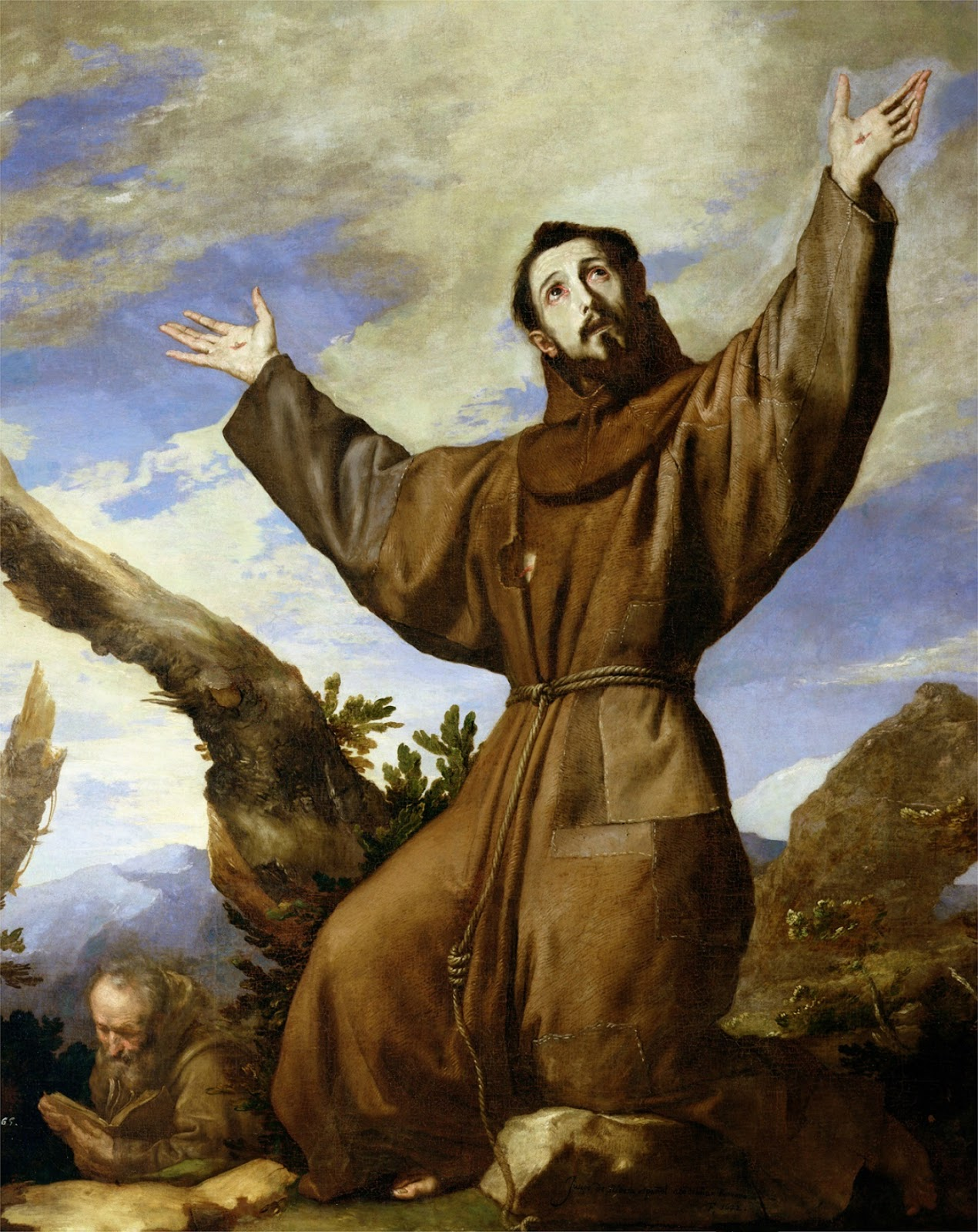 Saint Francis of Assisi in