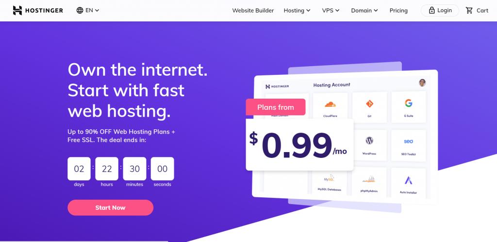 budget free hosting
