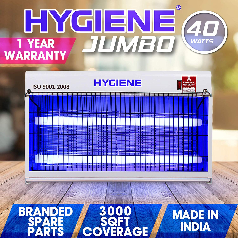 Hygiene 40W UV Tube Catcher Zapper Repellent Jumbo Flying Insect Killer