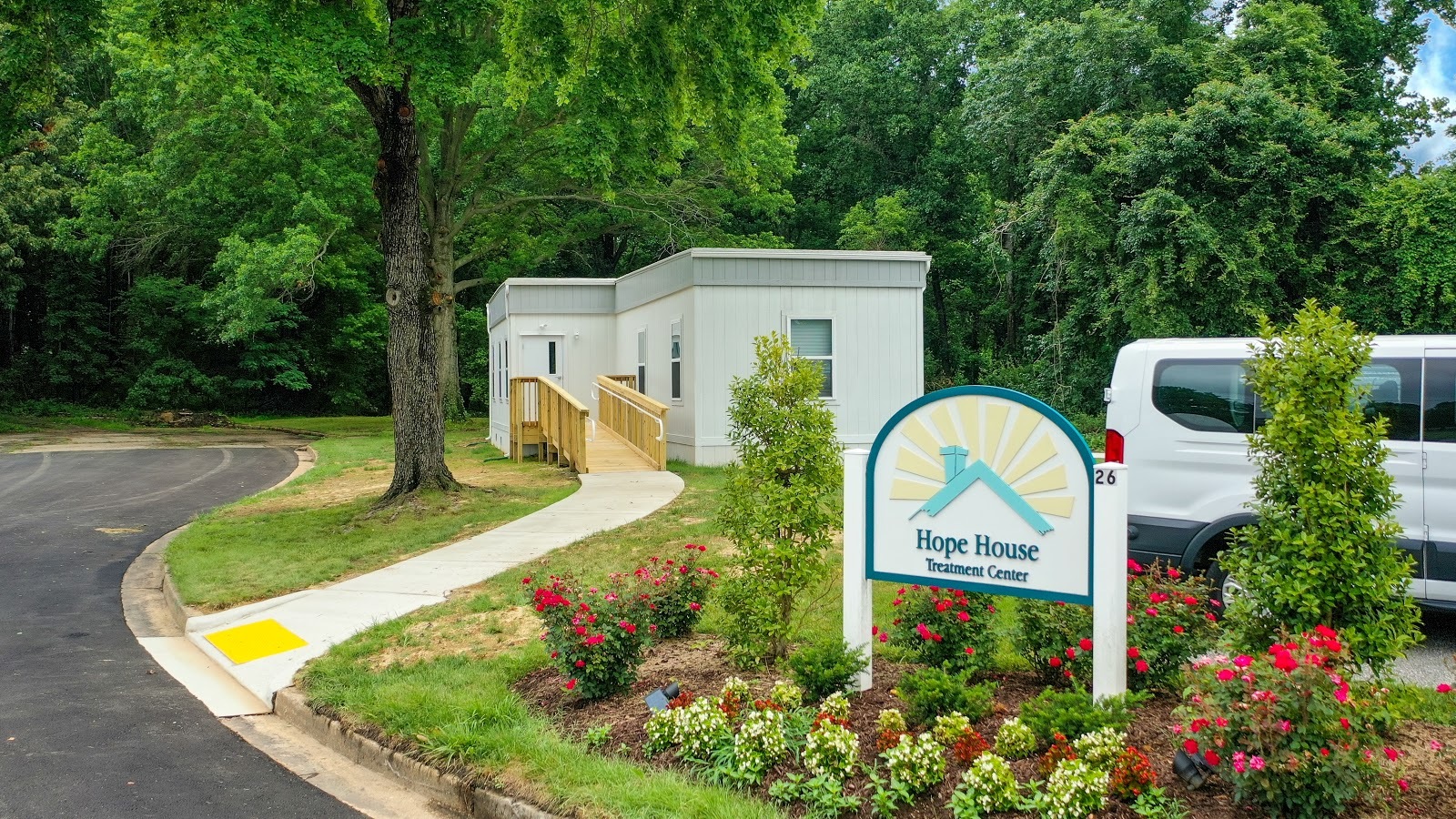 Hope House drug treatment center exterior