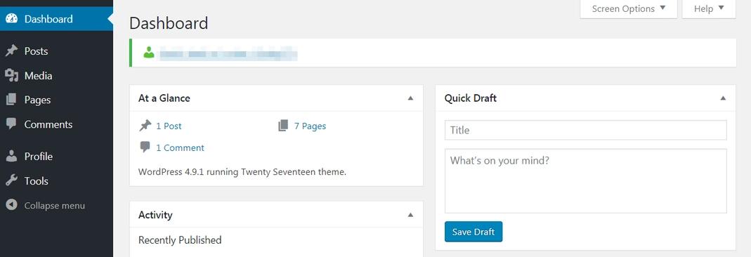 WordPress editor settings
