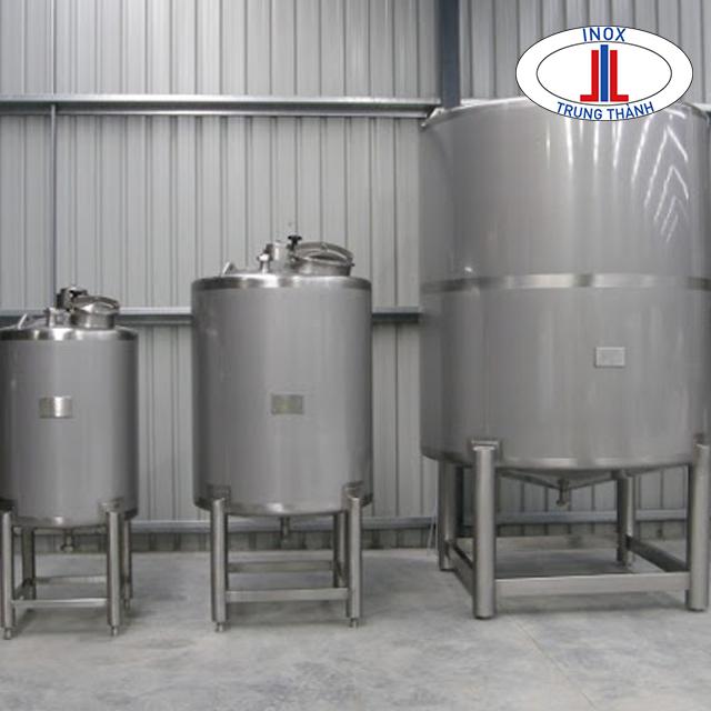 công dụng của bồn inox công nghiệp