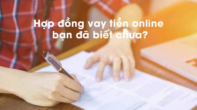6 thông tin quan trọng trong hợp đồng vay online