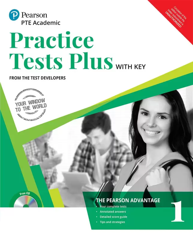 book for PTE exam - pte practice tests puls 1