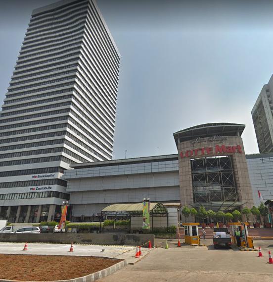 building of ratu plaza apartment