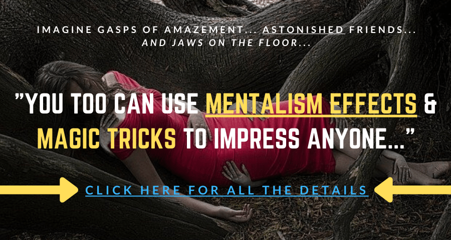 mentalism magic power offer information