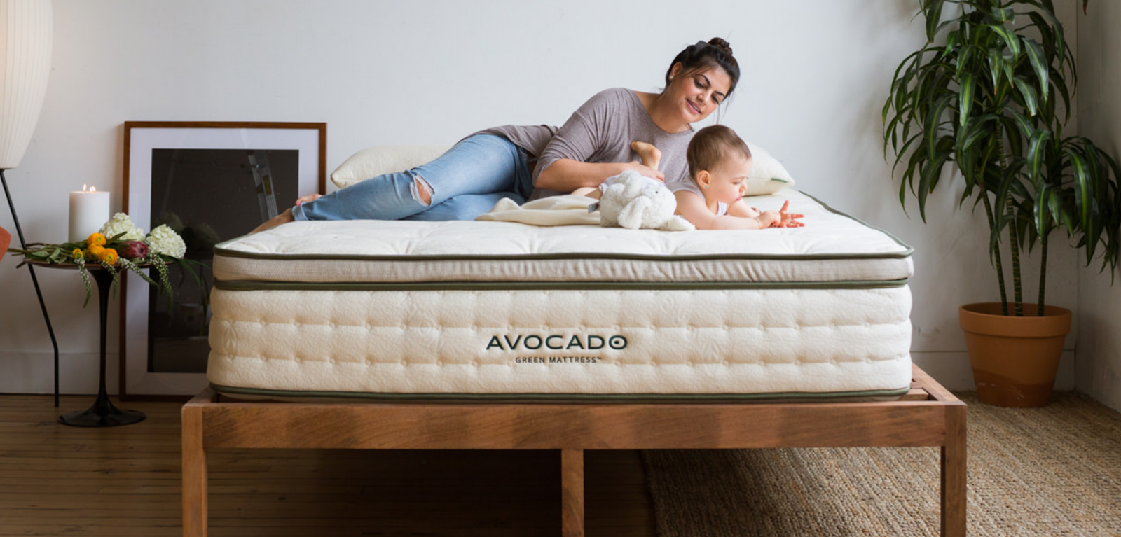 Avocado Green Mattress - 100% certified organic materials