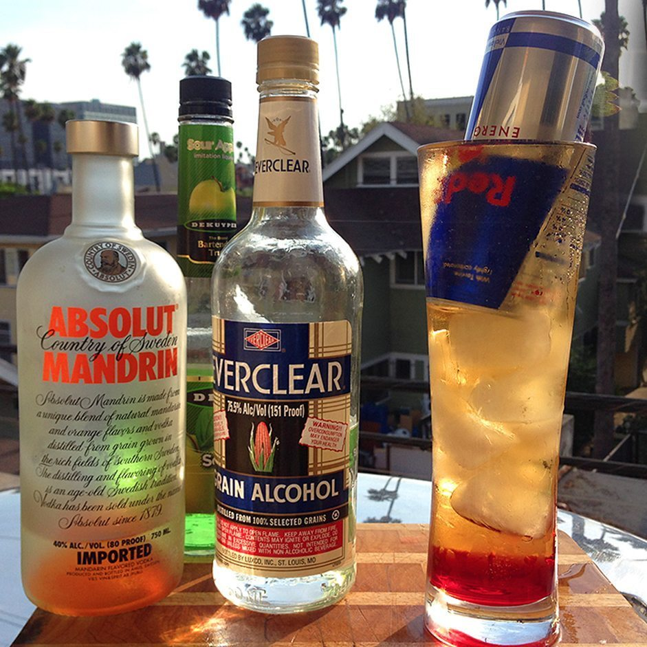 red bull cocktail