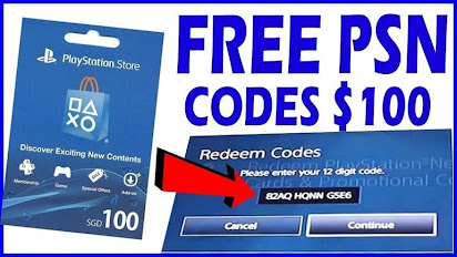 free psn codes and cards generator