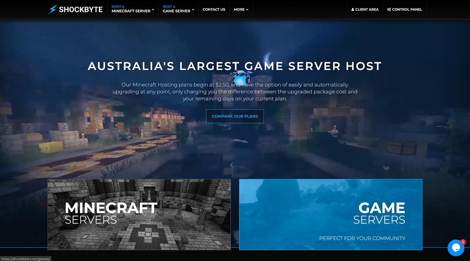 Services d'hébergement Minecraft les moins chers en 2020 1