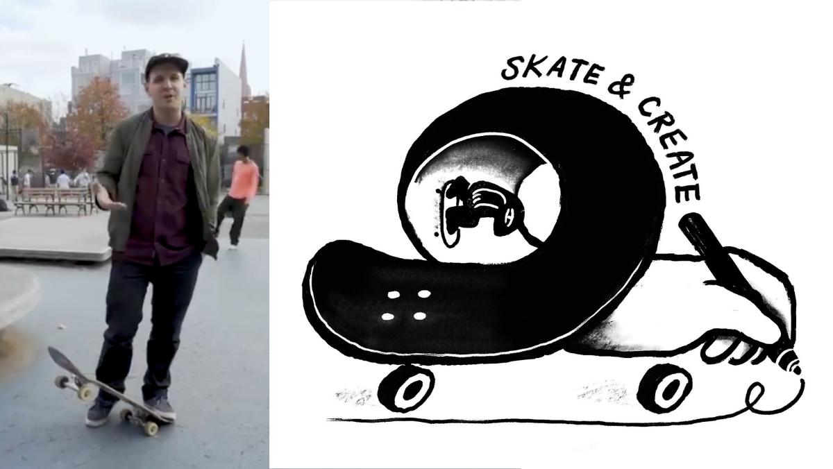 Skillshare teacher Eric Friedensohn explains how he finds inspiration at his favorite skate park.