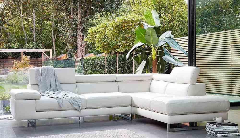 Tối đa hóa không gian với ghế sofa góc da