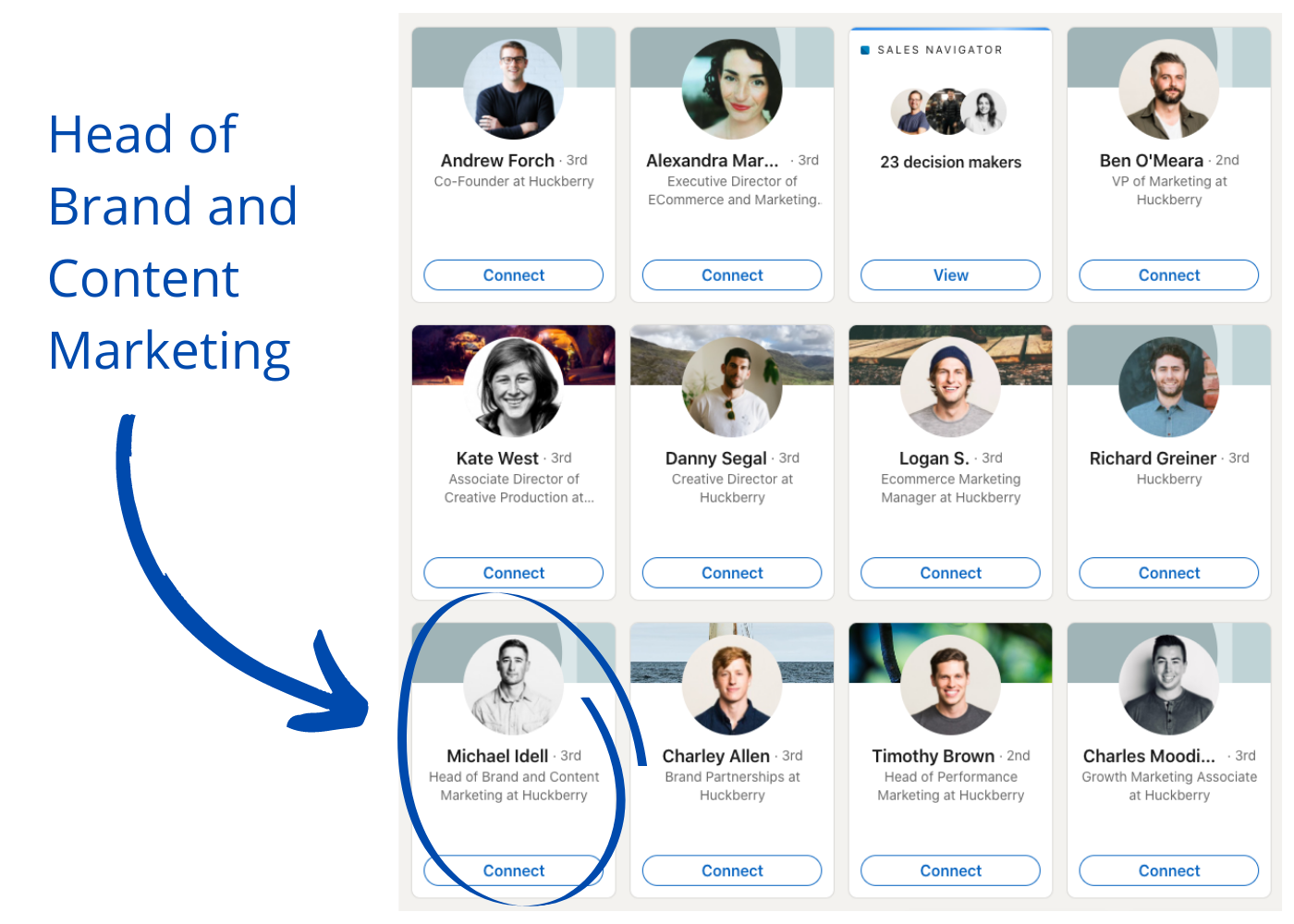 How to find perfect copywriting clients on LinkedIn