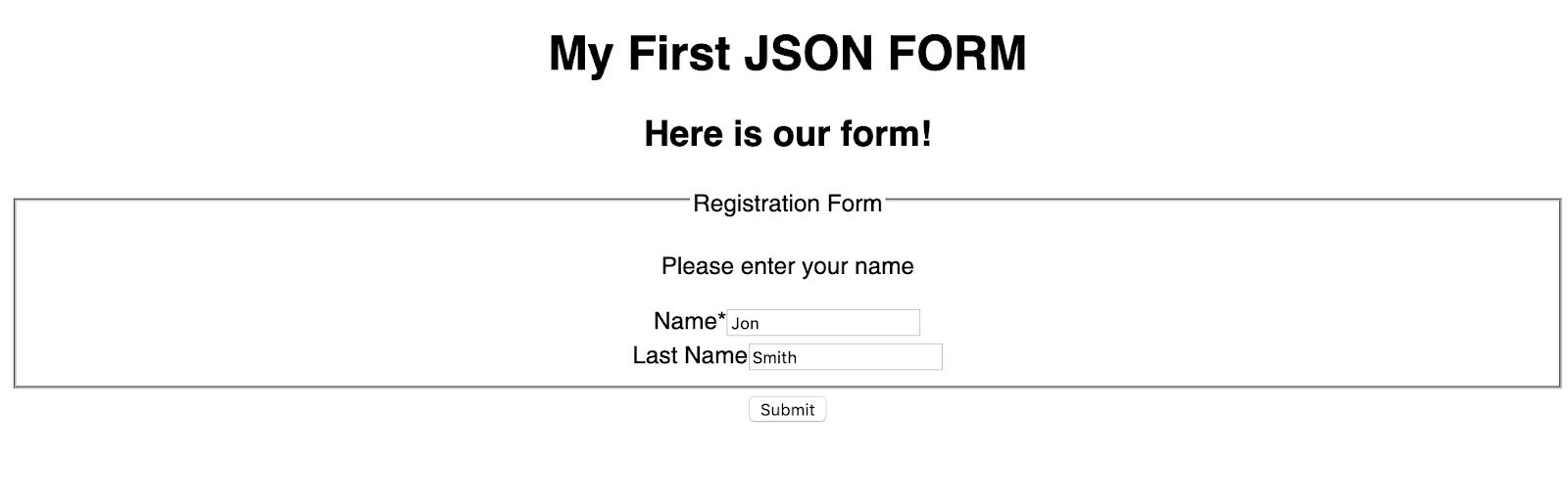 ¿Cómo crear un formulario con React JSON Schema Form?