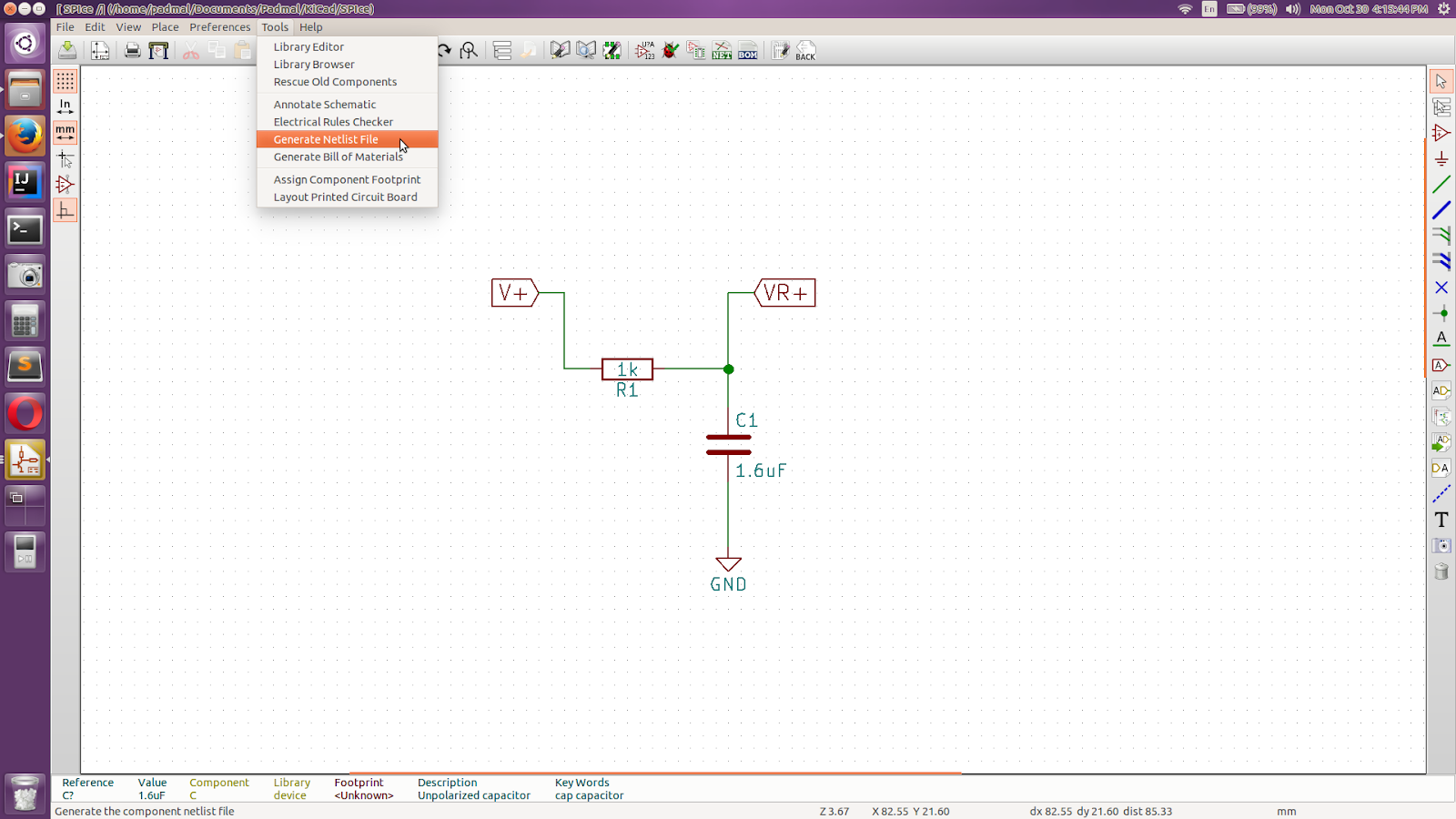 Kicad Simulation To Validate Circuitry In Pslab Device Blog Pcb Circuit Diagram Software The Test Procedures Carried Out Ensure Functions Is Described This Once Complete Generate