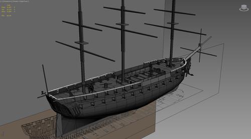 Fragata de la clase Leda