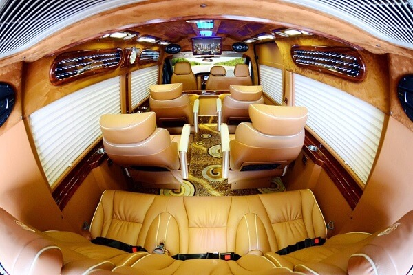 Xe Đức Tuấn Limousine đi Đà Lạt