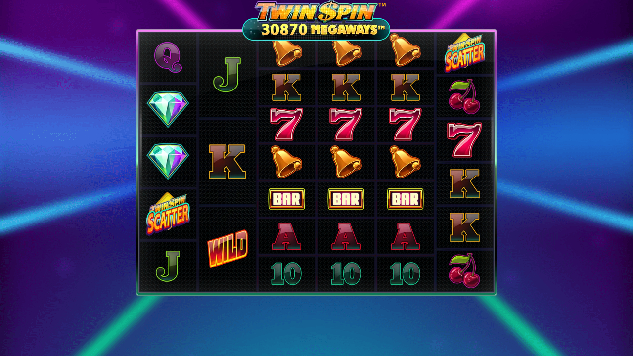 Twin Spin Megaways online Kazino spēļu automāts
