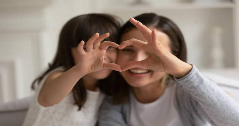 Be calm and patient to help your child build personality development
