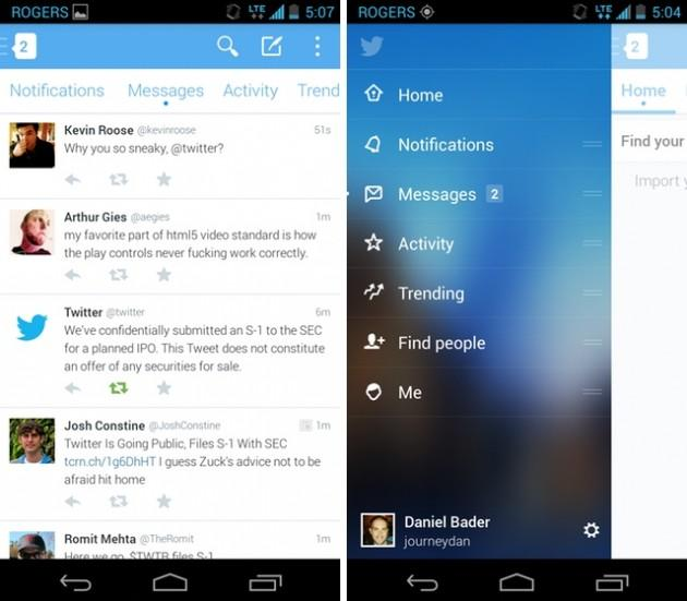 Twitter Releases Major Android App Redesign for Beta Testing