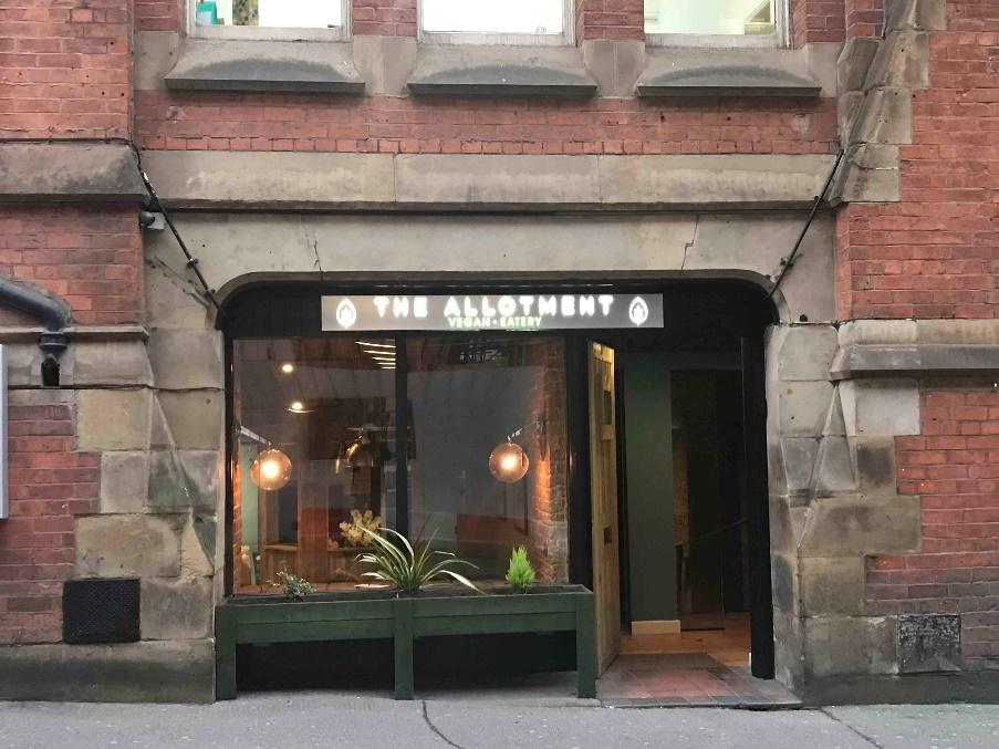 Image result for The Allotment Vegan Eatery, Manchester