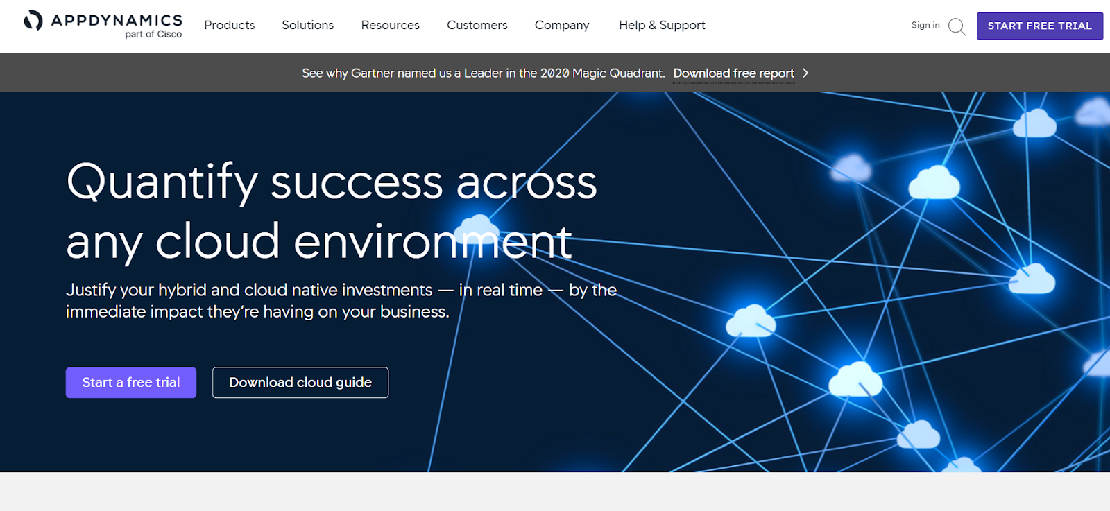 AppDynamics is one of the best Application Performance Monitoring Tools in the market