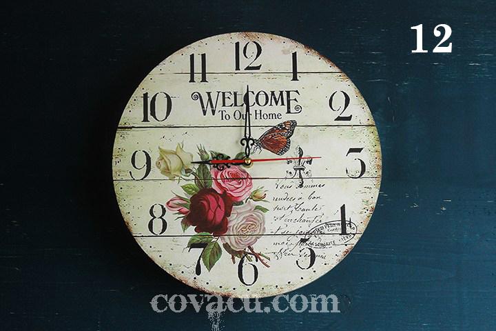 đồng hồ treo tường đẹp nghệ thuật