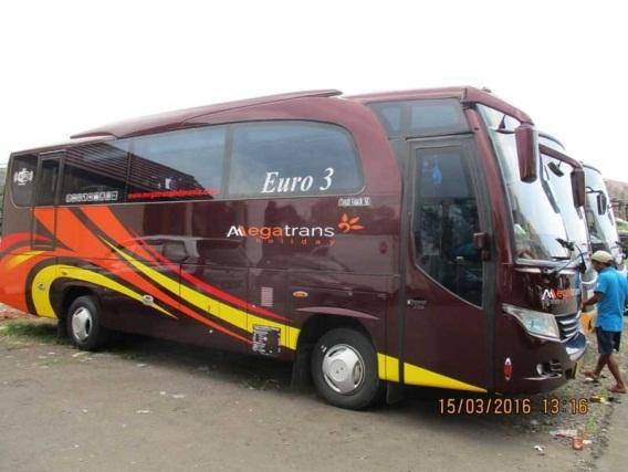 Sewa Bus Pariwisata Bandung ke Pangandaran Murah