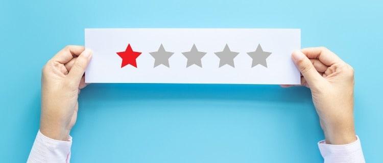 新創業融資制度のデメリットを星で表す人