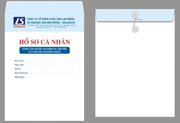 Mẫu bìa chứa hồ sơ xinh xắc, lịch thiệp