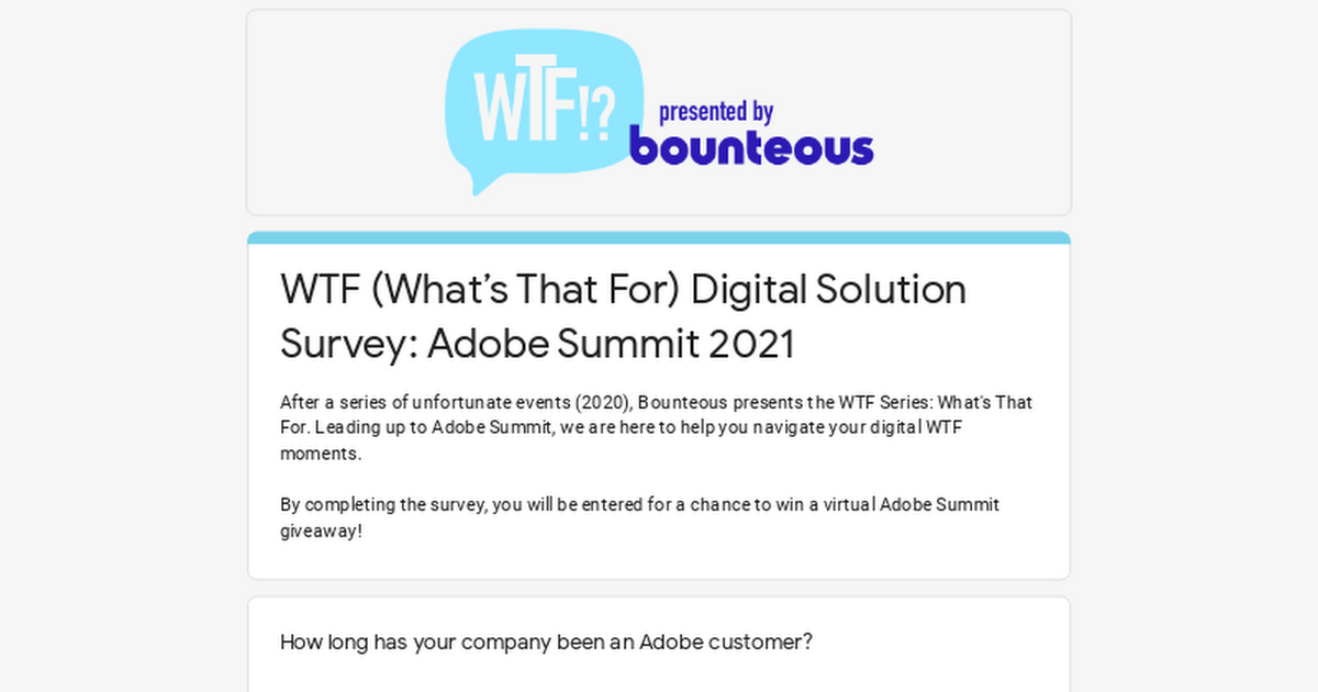 bounteousadobe: @GoldieChan 👀 have you checked out our #AdobeSummit giveaway?! https://t.co/xaL1yZrO9F https://t.co/19jkhNv12S