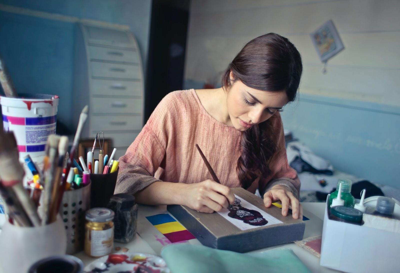 4 Great Career Options for Artists