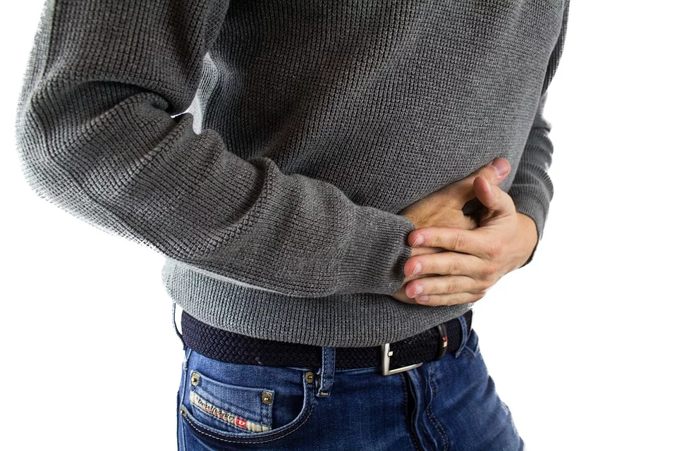 man with alcoholic gastritis
