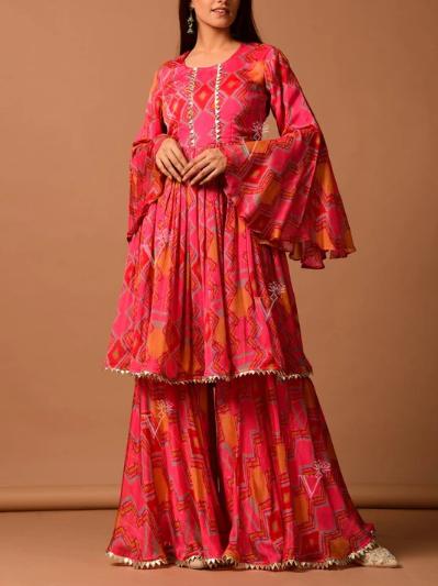 Sharara Pants With Kurti: What a Combination