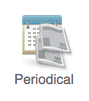 A screenshot of what the periodical icon looks like in Academic Search Premier.