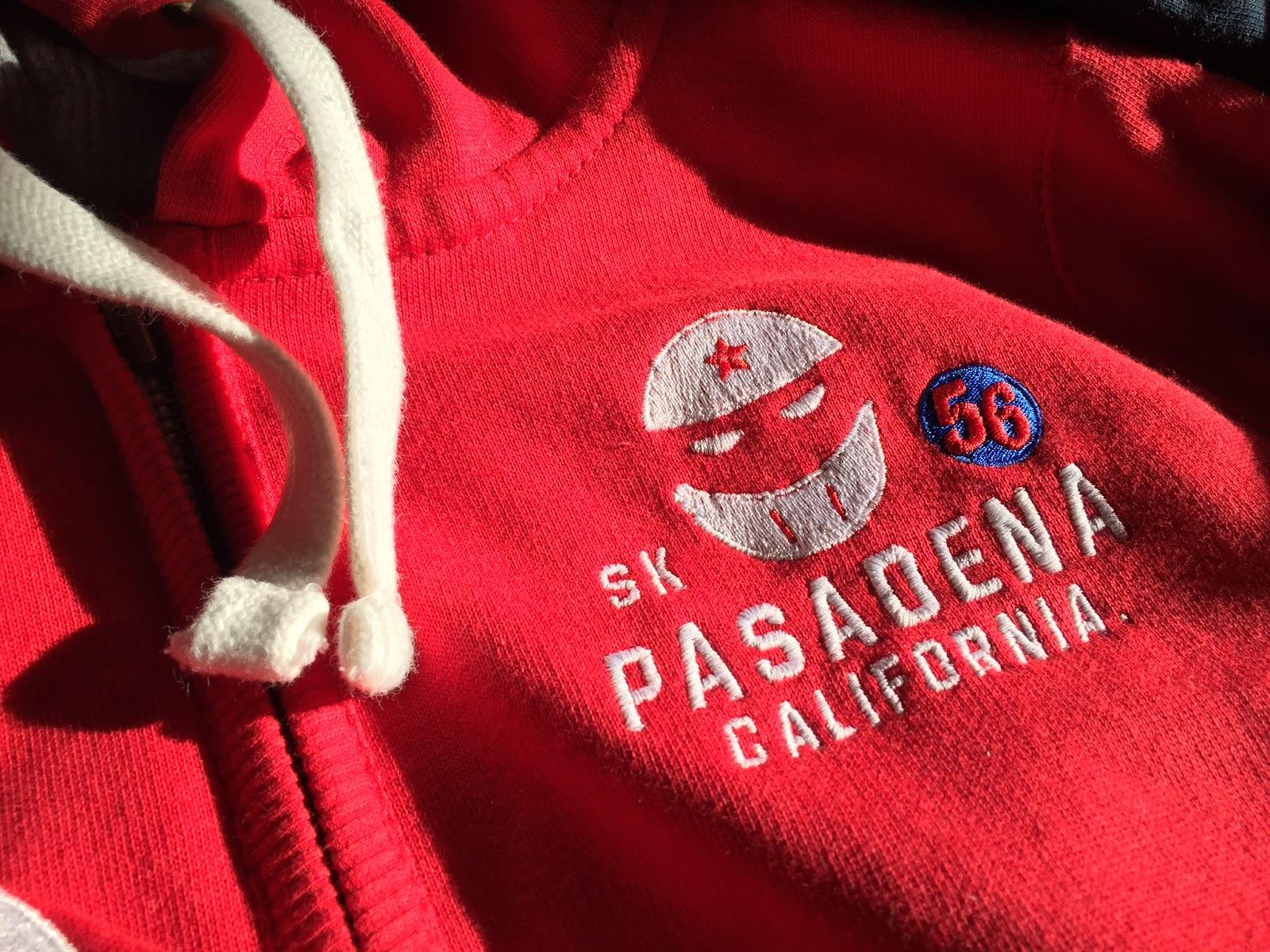 SK Pasadena 56 Mens Red Zoodie