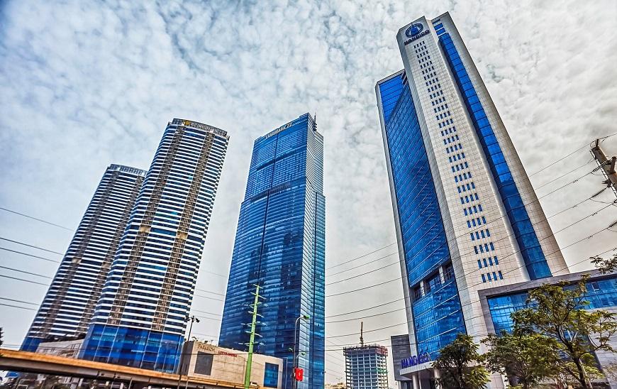 Thiết kế sang trọng, hiện đại của tòa nhà Keangnam