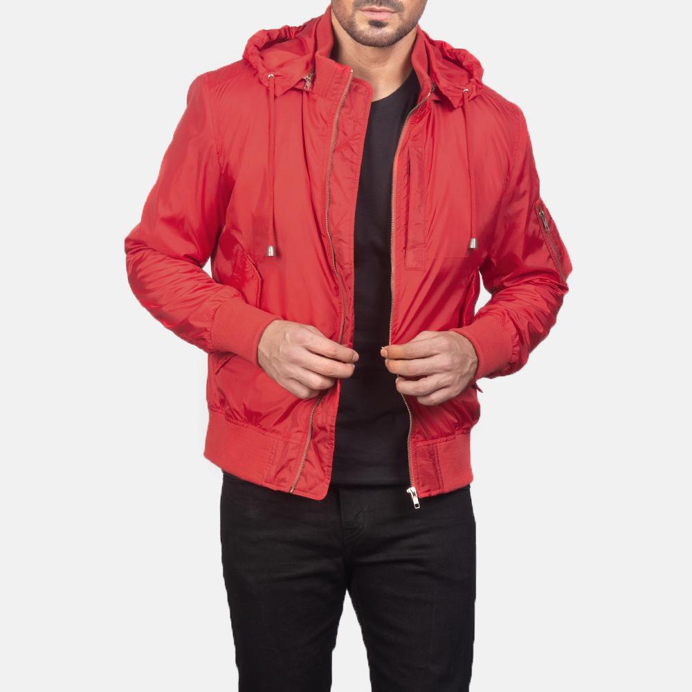 red jacket for men