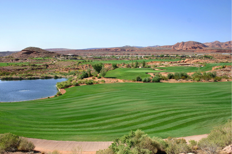 coral canyon golf course Utah