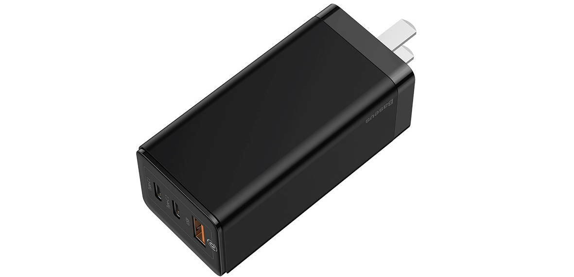 GAN MINI QUICK CHARGE TRAVEL CHARGER 65W
